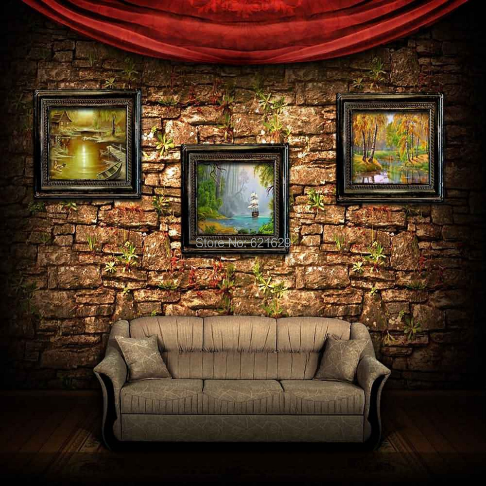 Indoor Sofa 10'x10' CP Computer painted Scenic Photography
