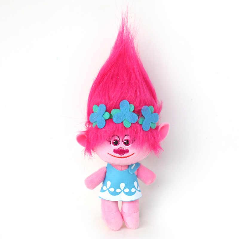 Nieuwe Kerst Carnaval Kostuum Trolls Pruik speelgoed Voor Kids Poppy Kanten Jurk Baby Meisjes Moana kleding Kinderen Vaiana Party Vestido