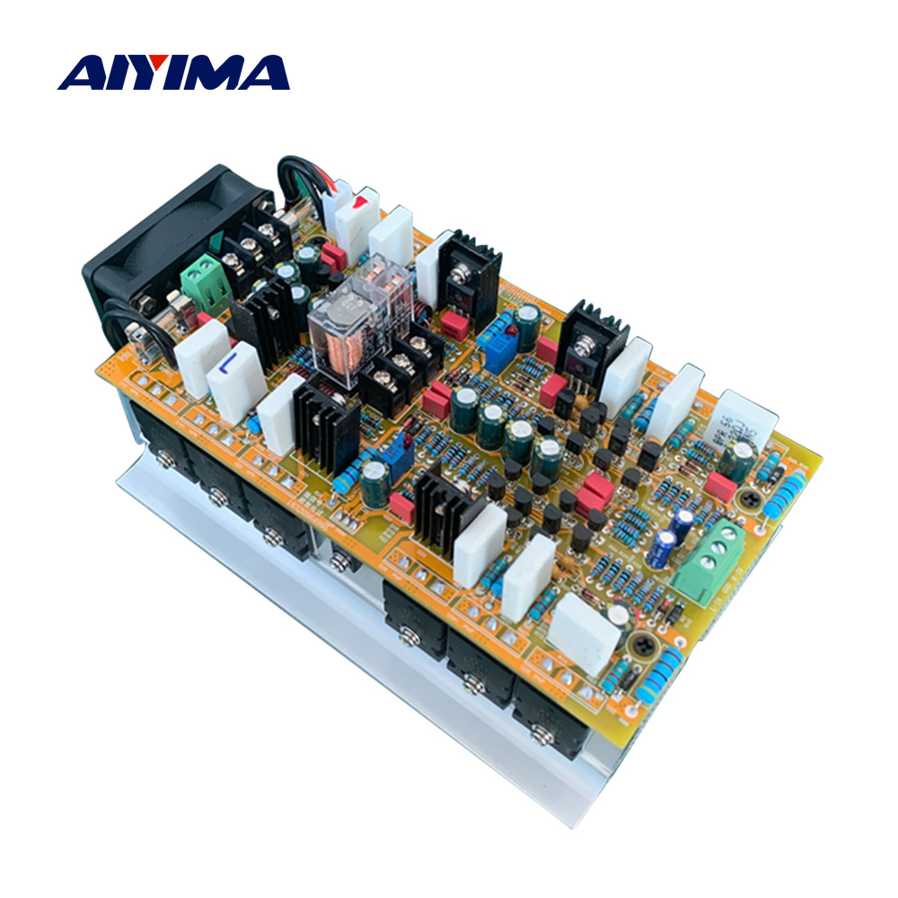 AIYIMA Amplifiers 1943 5200 Power Amplifier Audio Board 600W*2 Hifi 2 .0 Stereo Amplificador Home Sound Theatre DIY