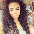 Lace Front Human Hair Wigs Loose Curly Peruvian Virgin Hair Full Lace Human Hair Wig Black Women Pre-Plucked Curly Hair Wigs