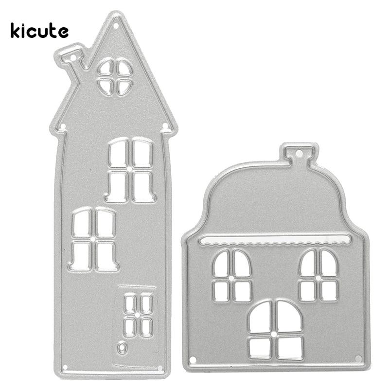 unids casa forma troqueles de corte plantilla plantillas gadgets de estampado para diy papel