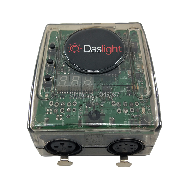 Daslight DVC4 DMX Software stage light controller moving lighting console for Disco DJ Stage Light USB Lighting Interface