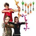 Zing de Aire De Gran Tamaño Cazadora Fuego Tek Arco de Juguete Juego de Niños Al Aire Libre jugar Zoni Con Recambios de Disparar Regalo Silbato 3 Flechas de Juguete Niños AS979