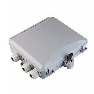 Image 2 - high quality 8 Core outdoor Fiber Optic Terminal Box 8 port Fiber Optic Distribution Box Fiber optic cable tray