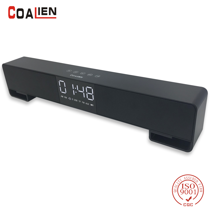 COALIEN Wireless Bluetooth Speaker Portable Speakers 10W Subwoofer Home Theater High Power Loudspeaker for Phone MP3 PC TF