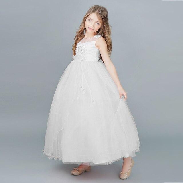 Long Evening Dresses Wedding Dresses for Girls Fancy Girl Vestidos ...