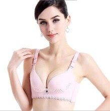 Free Shipping Breathless hollows cup summer super thin underwear feeling seamless no ring  girl bra set #7356
