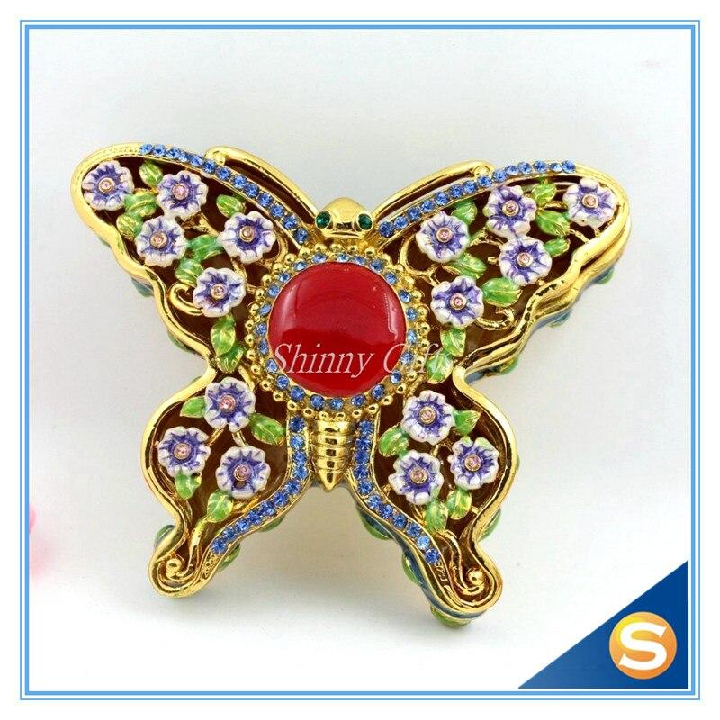 Popular Butterfly Trinket Box Buy Cheap Butterfly Trinket Box Lots From China Butterfly Trinket