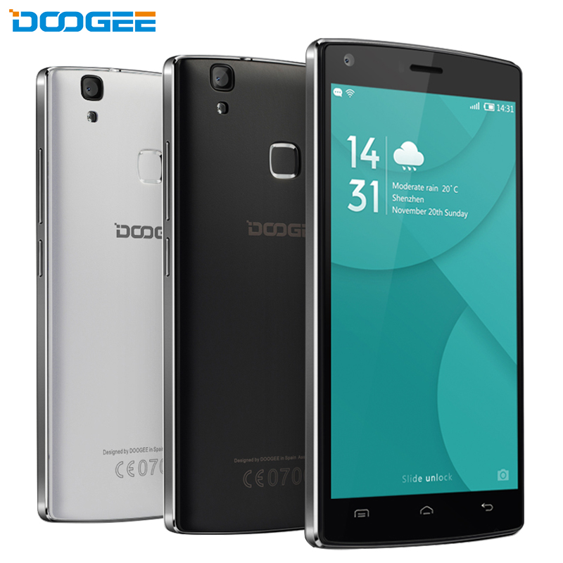 Original Doogee X5 Max Cell Phone 1GB RAM 8GB ROM MTK6580 Quad Core 5.0″ IPS Screen 5MP Camera Android 6.0 OS 4000mAh Smartphone