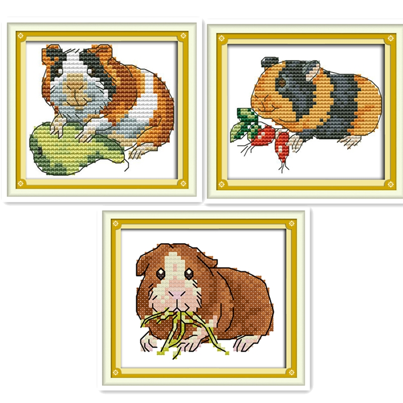 Detail Feedback Questions About Hamster Embroidery Cross Set Chinese