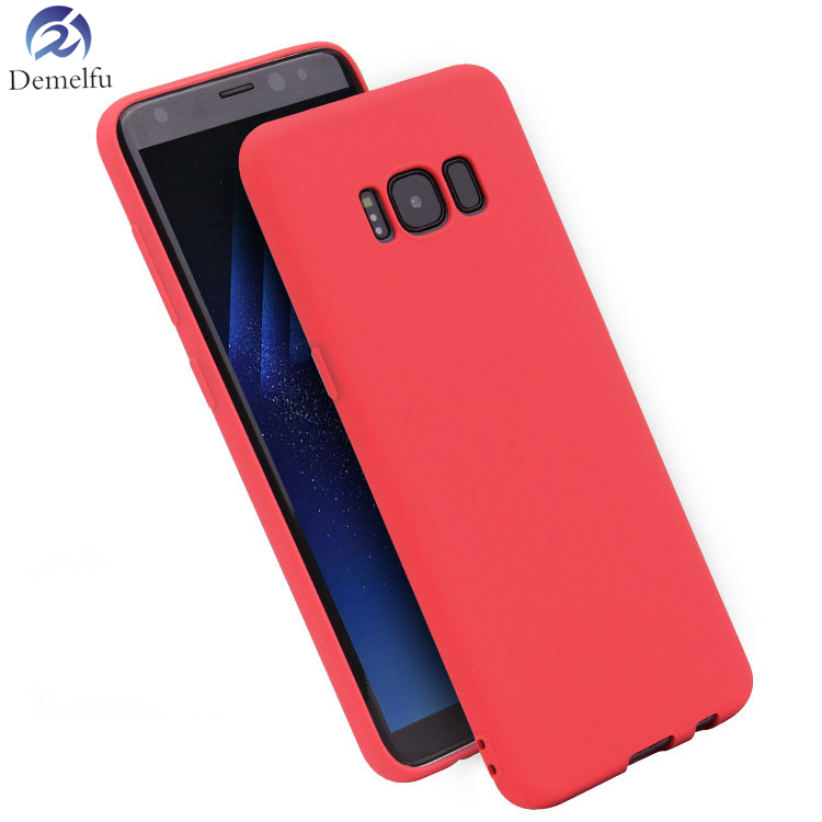 Demelfu Color Cover For Samsung A5 A7 2015 A5 A7 2016 A3 A5 A7 2017 Rubber Silicone Case Matte Frosted Case Fundas Capa Coque image