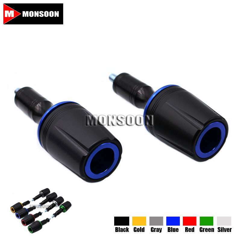 For KAWASAKI Z900 Z 900 2017 Motorcycle Accessories Body Frame Sliders Crash Protector Falling Protection Blue