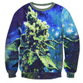 Fashion Weed Of The Galaxy Hoodie Crewneck women/men Print 3d Hoodies Casual long-sleeved Mens Harajuku Sweatshirt Fast Shipping