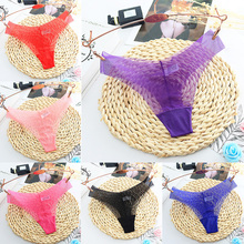 Sexy G-string Ladies gauze women Clothing Accessories T-Back One Piece Panties Solid Underwear Seamless Low Waist 1PC ultrathin
