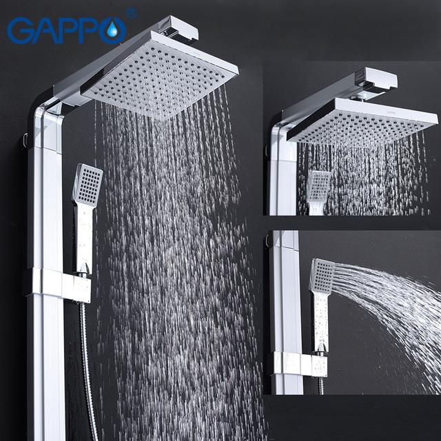 Velmi moderní sprchové hlavice ve více provedeních