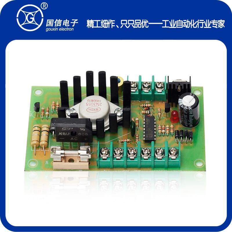 цена на 50/15V-2A, 3A Manual Tension Control Board Adjusting Plate Slitting Machine Magnetic Powder Clutch Brake Wholesale