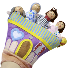 Children Cartoon Characters Hand Puppets Baby Hand Puppet Dolls Toys for Bedtime Stories