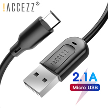 !ACCEZZ 30CM 1M 3M Micro USB Charger Cable Fast Charging Data For Samsung S7 Huawei Xiaomi Tablet Android Cables Short Long Wire