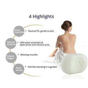 Image 4 - ננו כסף עור סבון ניטראלי PH להקל על עייפות צמח ארומה לחות עור פנים ניקוי עיקור אנטיבקטריאלי