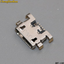 ChengHaoRan 5x Micro USB jack Mini Charging socket connector For ZTE V815W For lenovo A798T A590 A808 A706T A670T S890 S820 S880 аккумулятор для lenovo a830 a859 k860 s880 s890 2250mah cs cameronsino