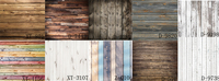 HUAYI 10pc 2x2ft wood planks backdrop for photography wood floor vinyl backdrop background wood GY 021