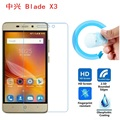 ZTE Blade X3 Screen Film, 2.5D Ultra-Thin HD Clear Soft Pet Screen Protector Film for ZTE Blade X3 / D2 T620 A452