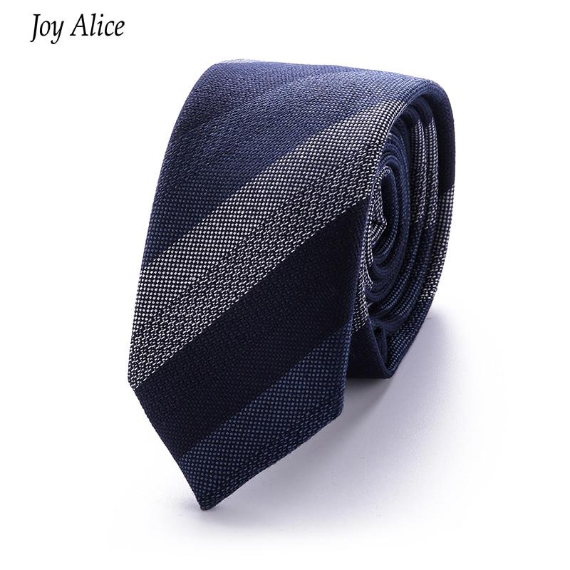 Moda pamuk 6 cm erkek Renkli Kravat Örme Örme Bağları Işlemeli - Elbise aksesuarları - Fotoğraf 1