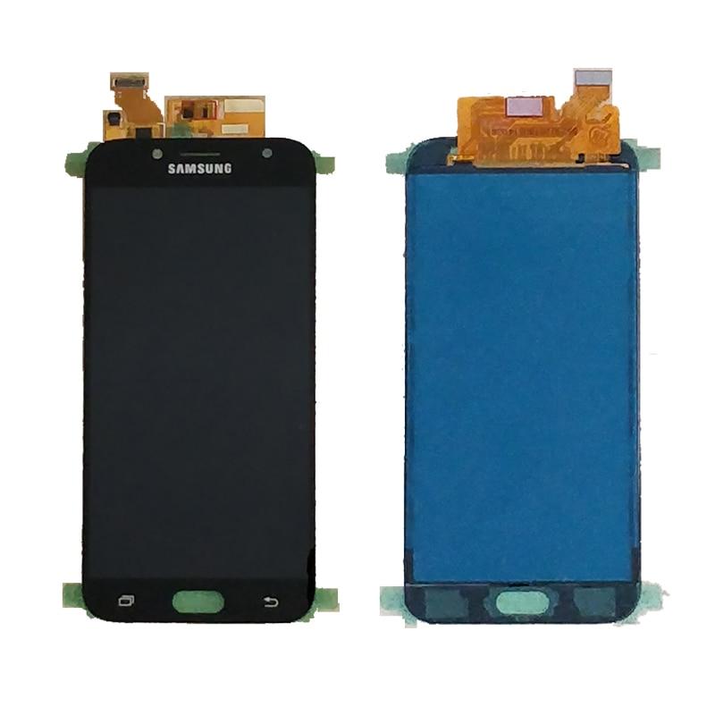 J730 LCD para Samsung Galaxy J7 Pro 2017 J730 J730F pantalla LCD y pantalla táctil digitizador Asamblea J730F J730GM J730G LCD