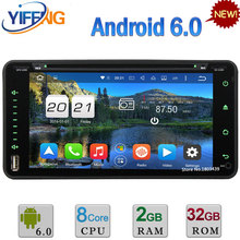 Android 6.0 2DIN Octa Core 2GB RAM DAB+ Car DVD Player Radio For Toyota Corolla Land Cruiser Rush Highlander Fortuner Prado RunX
