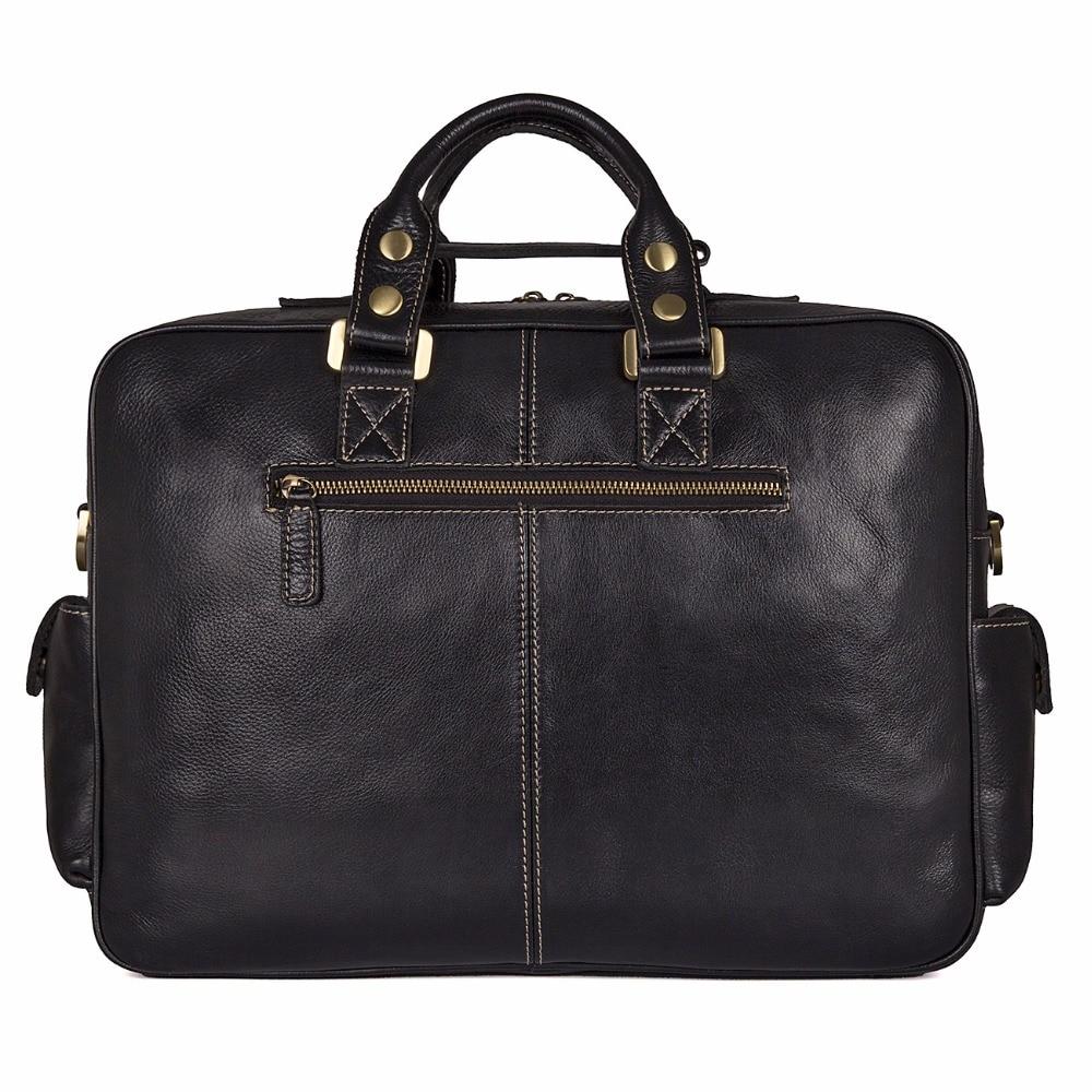 0ba2d74c3a1da Schulter Black 7028a Große Laptop Kuh Echt Männer Leder Fach Jmd  Aktentasche Handtasche Business 1 Tasche ...
