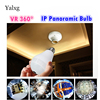1080P Home Bulb Led Light Wi Fi Camera With Motion Sensor Day And Night Full Color