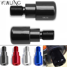 For Yamaha Have MT logo Hand grips Ends motorcycle handlebar ends MT-07 MT07 07 09 10 MT-09 MT-10 X-MAX 400 125 250 T-MAX 530