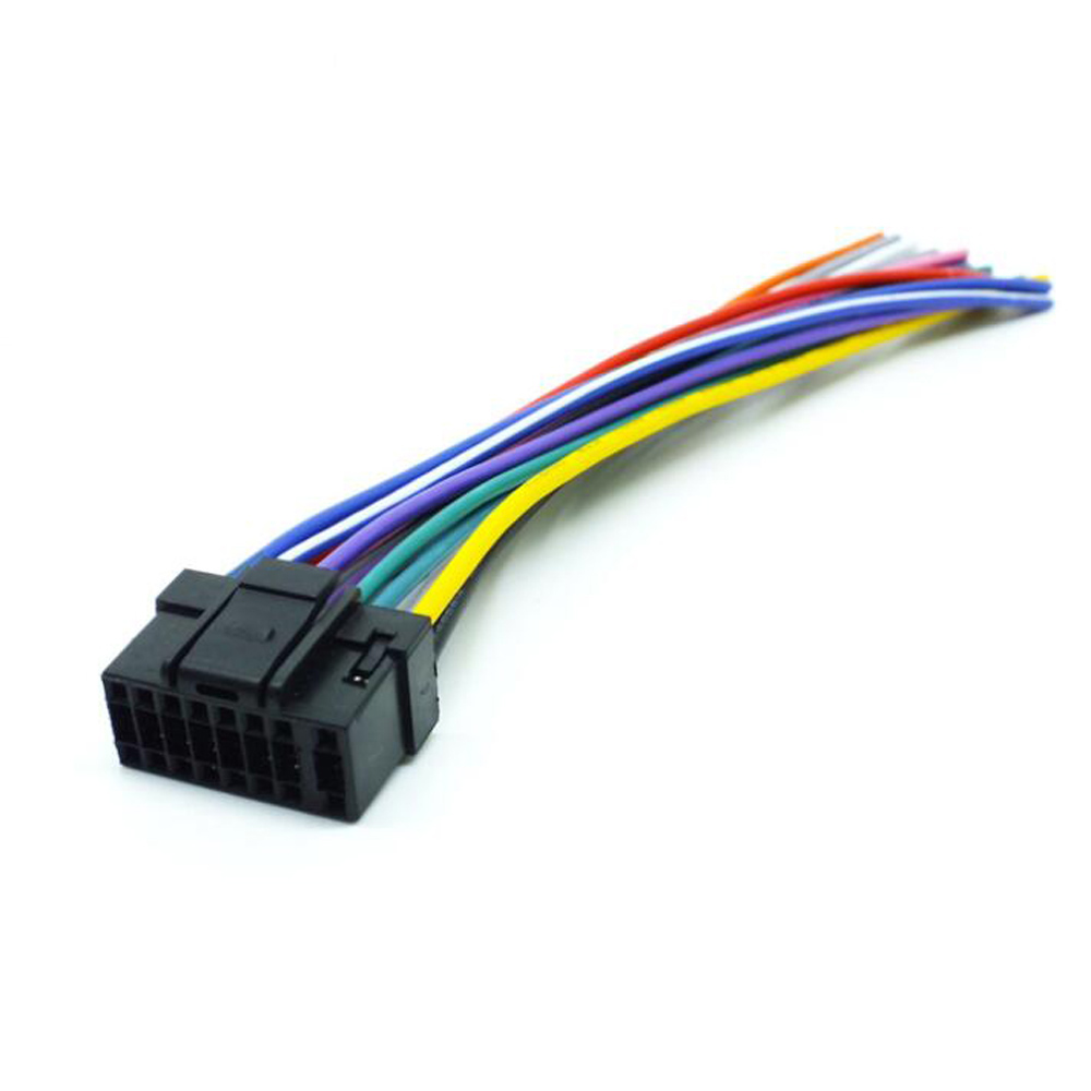 Car Audio Stereo Wiring Harness Adapter Plug For Alpine border=