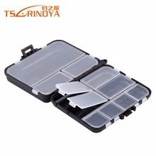 TSURINOYA Trulinoya 03 Fishing Box 11.5cm 9cm 3.5cm Double Layer Hard Plastic Fishing Tackle Storage Box Lure Accessories Box