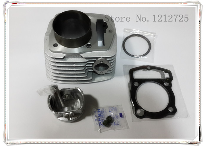 Cross-country motorcycle CQR250 CB250 a sleeve cylinder Diameter 65.5mm the piston pin is 15mm free shipping 65 5mm zongshen t4 mx6 cqr250 cb250 dirt bike motorcycle cylinder kits with piston and 15mm pin for kayo t4