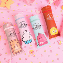 1pc Toothpaste Shape Cartoon Ice-cream Sausage Chocolate Biscuit PU Pencil Case Pen Box Pencil Bag Stationery Kids School Supply(China)