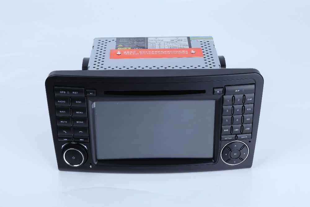 7インチ1024*600オクタコアのandroid 8.0カーdvd gps用メルセデスベンツml w164/gl x164 ml350 ml320 ML280 gl350 gl450 2005-2012マップ