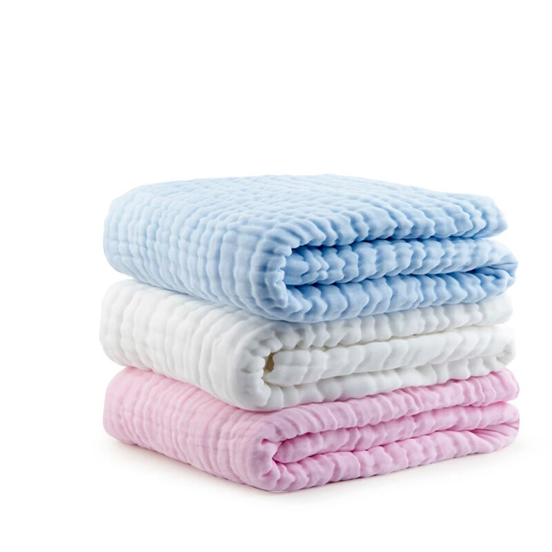 Muslin Baby Bath Towel Newborns Receiving Blankets cobertor bebe Super Soft Thick Gauze Infant Swaddle Wrap Baby Bedding Blanket newborn 100% cotton baby blanket infant muslin kids soft bath shower towel baby gauze swaddle receiving blankets 110cm 110cm