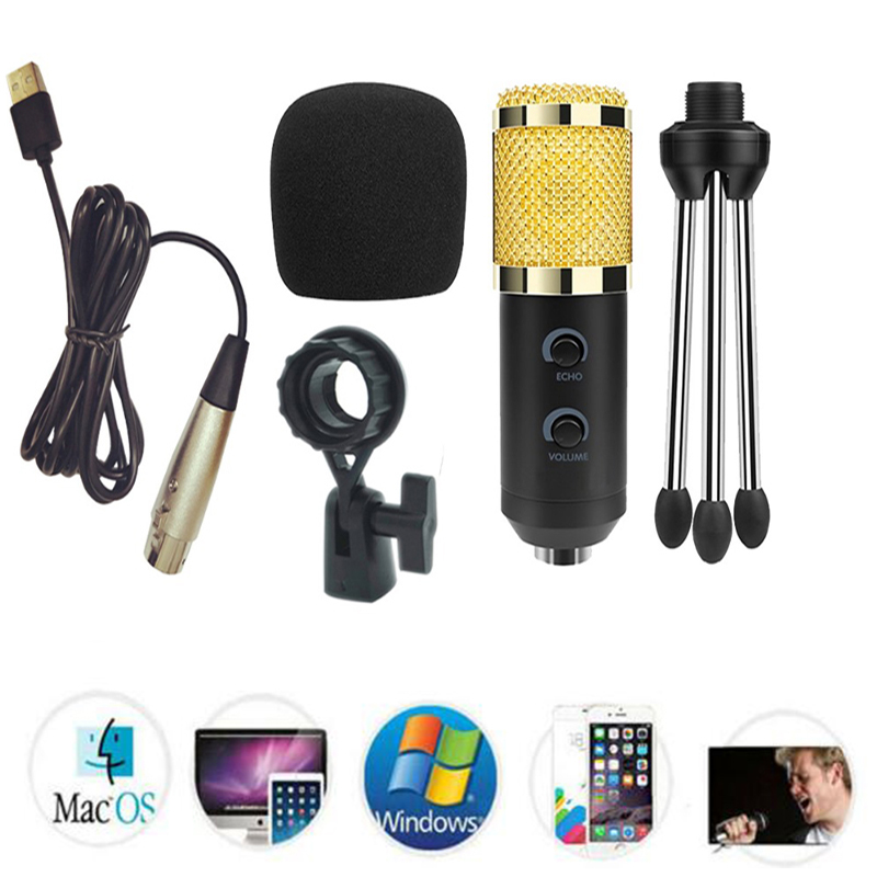 bm 900 usb microphone for computer condenser studio karaoke mic for pc free shipping in. Black Bedroom Furniture Sets. Home Design Ideas