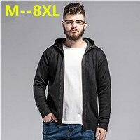 10xl 9xl 8xl 6xl 5xlฤดูใบไม้ร่วงในช่วงฤดูหนาวของผู้ชายถักเสื้อกันหนาวคลุมด้วยผ้า