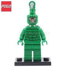 POGO Scorpion SuperHero Action Figure DIY Block With Building Model Set Single Sale PG072 Classic Baby