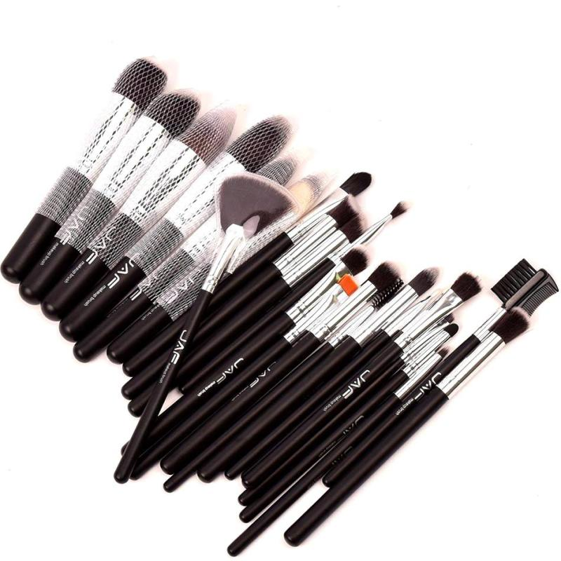 24 PCS Makeup Brush Set Professional Make Up Beauty Blush Foundation Contour Powder Cosmetics Brush Makeup D3 anime figma 289 sword art online ii kirito alo ver alover kirigaya kazuto pvc action figure collectible model toy 14cm kt2969