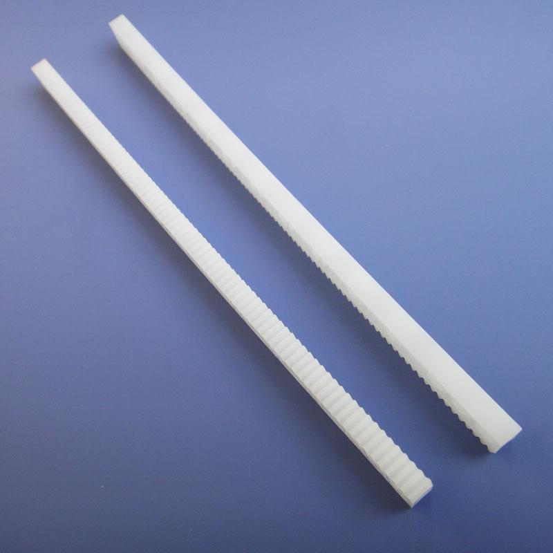 10pics Plastic Gear Rack  Pinion Rack Drive Gear Sprocket Wheel Synchronous Processing Nylon Gear