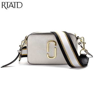 Classic Small Flap Women Bag With Canvas Strap