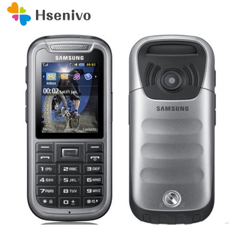 C3350 100% Original Unlocked Samsung C3350 2.2 Inches GPS GSM Cheap Refurbished