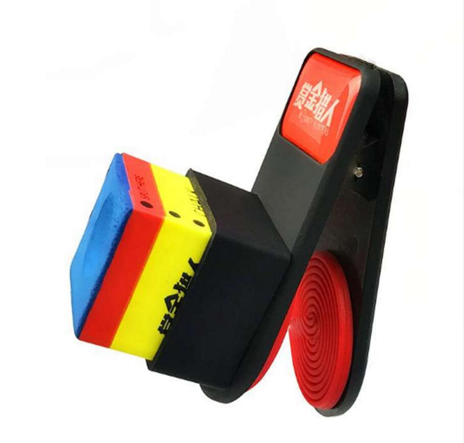 New Arrival Magnetic Billiard Chalk Holder Noiseless Billiard Snooker Cue Chalk Holder Durable Billiard Accessories 2019 China