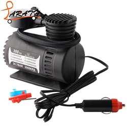 Портативный Мини Воздушный Компрессор Электрический насос для шин 12 вольт автомобильный 12 в PSI мини воздушный компрессор Электрический