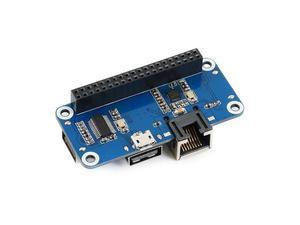 Image 3 - Waveshare ethernet/usb hub hat para raspberry pi 1x porta ethernet rj45 3x portas usb 5 v