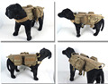 Army Dog Tactical Vests Outdoor Military Dog Clothes Load Bearing Harness SWAT Tactical Dog Training Molle Vest Harness  XL1111