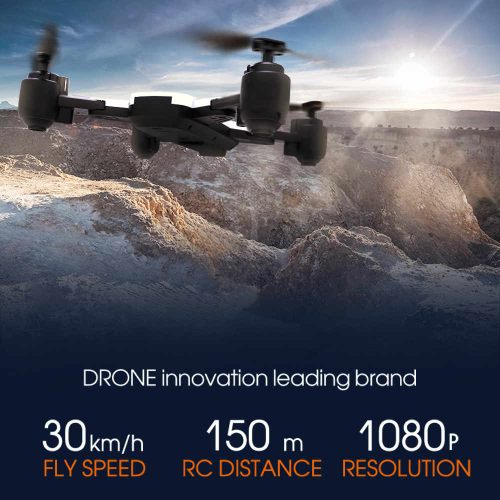 Wifi 1080P Cam FPV Ketinggian Hode Optical Flow Selfie Drone Quadcopter Baru Dropshipping